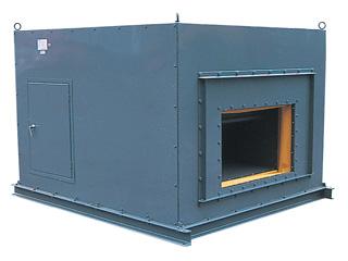 CLF2-U-RD消音ボックス付シロッコファン