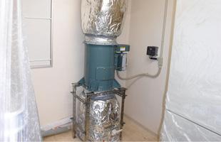 厨房の排気設備更新
